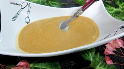 Image : recette Crème abricots à la noix de coco