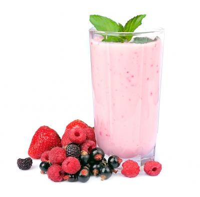 Image : Smoothie - Smoothie aux fruits rouge