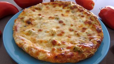 Entrées froides : Assiette de pizza margherita