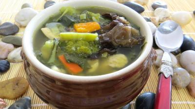 Recette Bol de soupe minceur de batavia et légumes