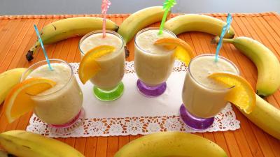 Boissons : Verres de boisson à l'ananas