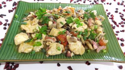 cuisson au vin : Assiette de volaille au tabasco