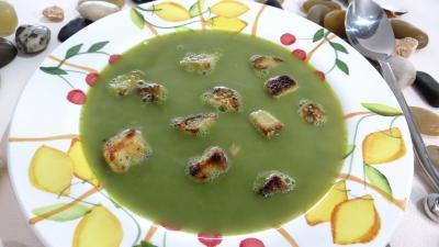 soupe aux pois chiche à la provençale