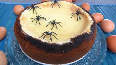 orange zeste : Assiette de cheesecake new-yorkais