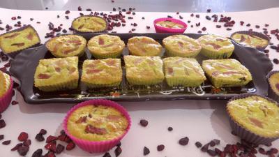 Bouchées de poireau à la mimolette