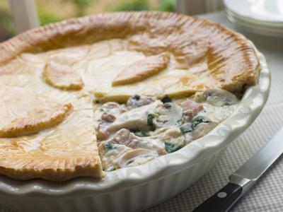 Image : Pie - Chicken pie