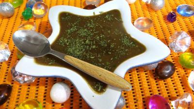 sauce pour légumes : Ramequin de vinaigrette à l'échalote