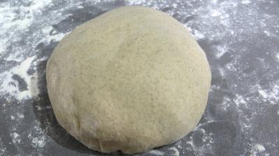 pizza : Pâte à pizza à la farine de seigle