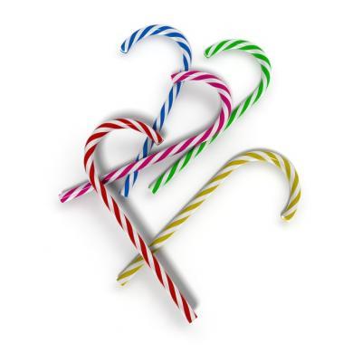 Image : Sucre d'orge - Bâtonnets de sucre d'orge