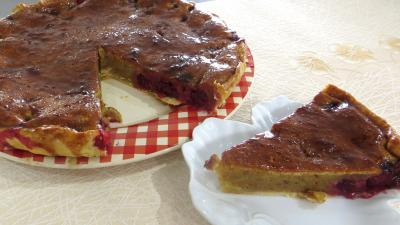 Image : recette Tarte à la frangipane et aux mûres