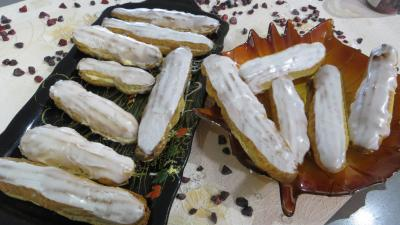 Image : recette Eclairs  la liqueur d&#39;Izarra