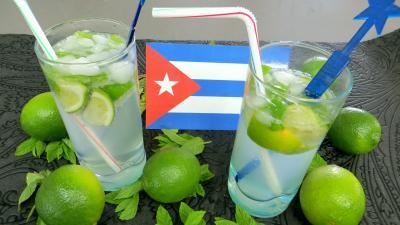 cocktail : Verres de mojito du salsero (cocktail)