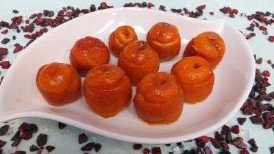 Image : Plat d'abricots farcis à la ricotta