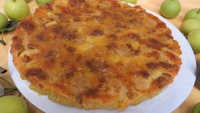 nashi : Clafoutis aux nashis