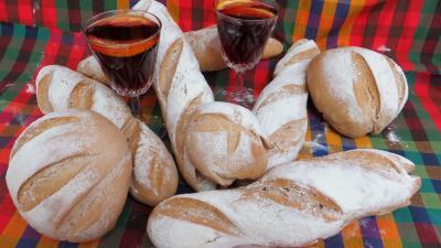 sangria : Baguettes et miches à la sangria