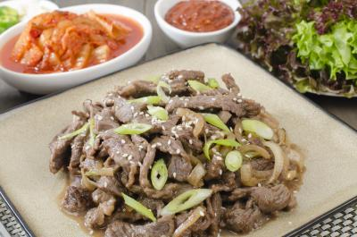Image : Cuisine de Corée du Sud - Bulgogi