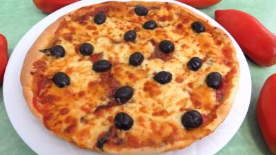 bette : Pizza aux blettes