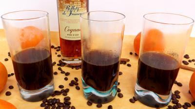 café : Verres de brûlot du diable