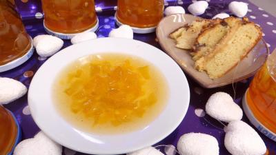 Recettes sans sel : Bocaux et coupelles de confiture de pastèques