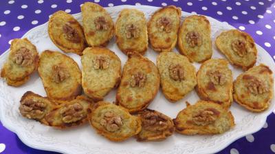 Pains & pâtes : Assiette de tartines chaudes aux fromages