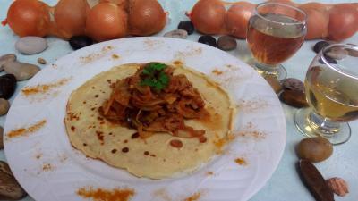 Cuisine orientale : Crêpes et ses fenouils à l'Orientale