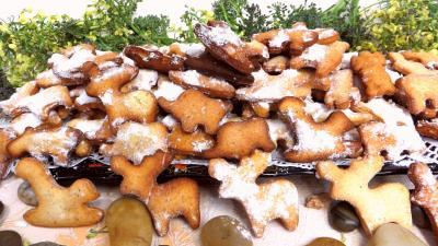 beignets sucrés : Assiette de bestiaire de carnaval