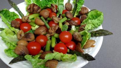 Salade de châtaignes - 7.1