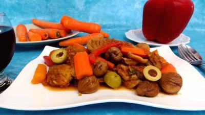 Viandes : Filet de porc aux châtaignes
