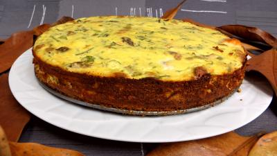 asperge : Cheesecake au saumon