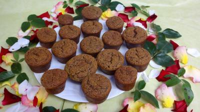 Desserts : Muffins aux nèfles sans gluten