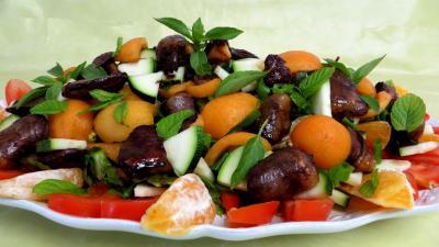 Pour débutants : Salade de nèfles