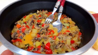 Légumes : Blanquette de pommes de terre