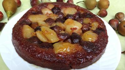 Les grands classiques : Assiette de tatin aux figues et poires