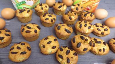 Desserts : Muffins aux poires