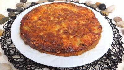 pecorino : Gratin de pommes de terre aux cèpes