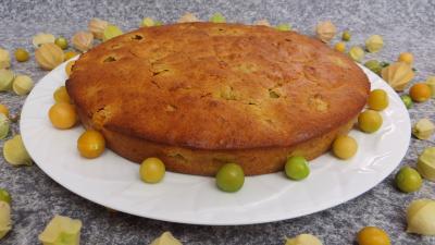 Desserts : Gâteau aux physalis