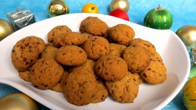 pâte à biscuit : Plat de sablés à stévia pour diabétiques