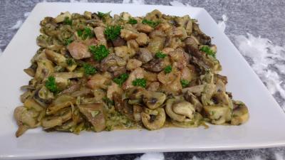 Image : recette Rognons d'agneau sauce moutarde