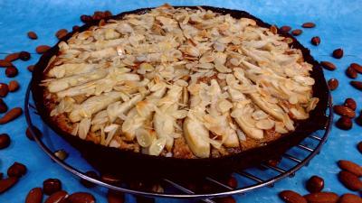 Image : recette Tarte aux poires et fruits secs