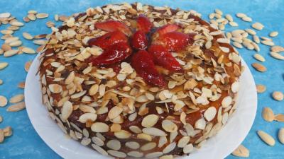 Image : recette Cheesecake aux fraises