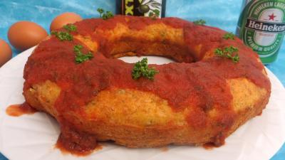 Olive : Couronne au jambon