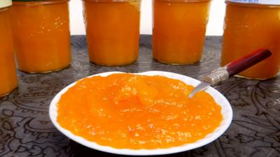 Image : Confiture d'abricots secs et pommes