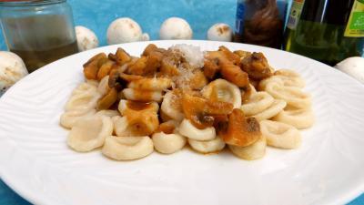 Pâtes alimentaires : Oreillettes façon provençale