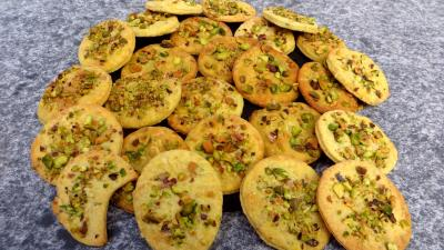 curry : Palets aux pistaches