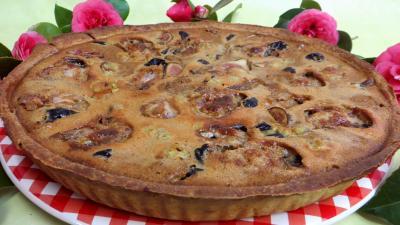pâte sucrée : Clafoutis aux pruneaux et figues