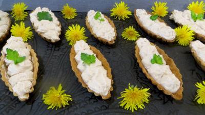 entrée à base de fromage : Barquettes au roquefort