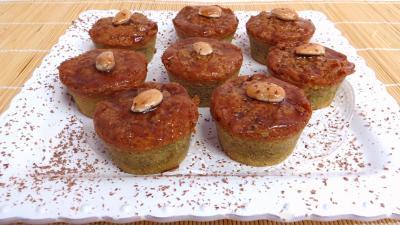 Gâteau : Assiette de délice aux amandes