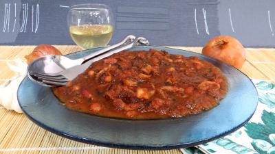 paprika : Encornets à la niçoise