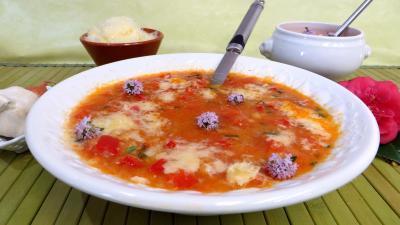 Image : Potage à la tomate