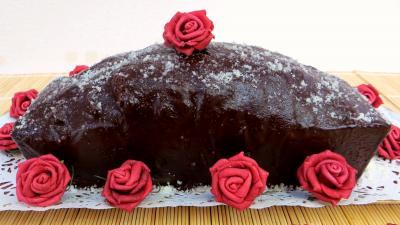 chocolat : Marbré chocolat citron